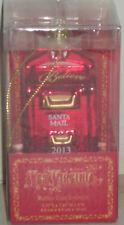 NEW Santa Mail Ornament YES VIRGINIA Christmas Mailbox Glass Holiday 2013 NWT