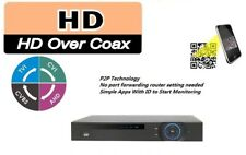8 Channel 4MP 1080p 720p DVR HD-CVI 8ch, IP Video Dahua + Audio + DMSS