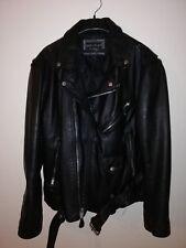 Perfecto leather vintage jacket black (Men L)