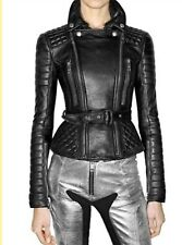 Burberry Prorsum Quilted Moto Leather Jacket