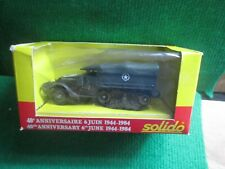 SOLIDO U.S.ARMY HALF-TRACK (LOT U68) BOXED
