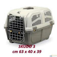 De transport pour les chiens Chats Lapins SKUDO 3 Iata approuvé 60x40x39h cm