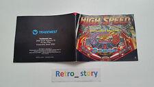 Nintendo NES High Speed Notice / Instruction Manual