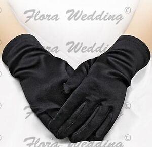 Girl's Satin Wrist Length Glove Communion/Christening/Confirmation/Pageant/Dance