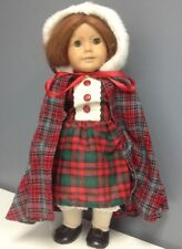 PLEASANT COMPANY Felicity Red Hair Green Eyes Plaid Dress Collectible Doll SR