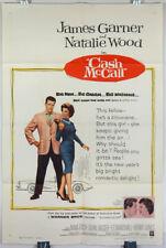 CASH McCALL - 1960 ORIGINAL MOVIE POSTER - NATALIE WOOD - JAMES GARNER