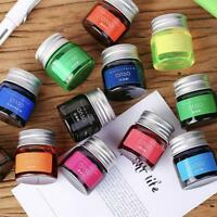 20ML Fountain Pen Ink Bottle Color Bright Painting Ink Smooth Writing 11 Colors