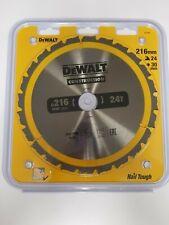 DeWalt DT1952 Saw Blade 216X30X24T DW777 DW701 DW707 DW712 DW771 DW777