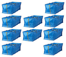 Ikea Frakta 20 Galón con cremallera mochila almacenaje compras viaje colada
