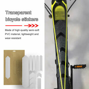100cm Bike Cycling Bicycle Frame Anti Protective Clear Protector Sticker TSha
