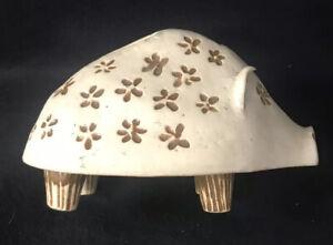 Bennington Pottery Piggy Bank Handbuilt David Gil Yusuke Aida Mid Century Modern