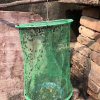 Reusable Green Fly Catcher Killer Cage Net Trap Insert Bug Pest Hanging`Catcher