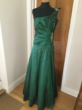 Beautiful Emerald Green Dress Size 18 NEW