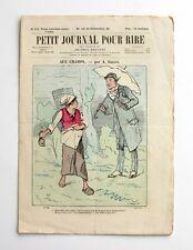 Le Petit Jounal pour Rire n°510 - Les Bons Gens de Province par Léonce Petit -