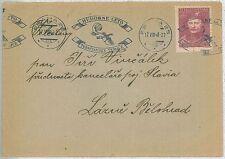 MUSIC : Czechoslovakia -   POSTAL HISTORY: postmark on COVER -  1948
