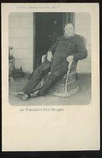BOER WAR Le President Kruger early u/b PPC