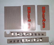 Beta Rev 3  Fork & Swinging arm Decals/  stickers