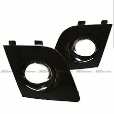 BLACK FOG LAMP LIGHTS BEZEL BUMPER COVER FITS FOR 06 07 SUBARU IMPREZA WRX STI