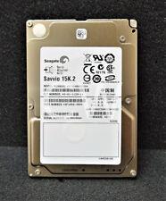 "Lot of 6 Seagate Savvio ST9146853SS 146gb 15k.2 RPM 2.5/"" SAS HDD 9FU066 FW 005"
