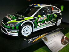 FORD FOCUS RS WRC08 #6 STOBART Rallye BULGARIE 2010 au 1/18 SUNSTAR 3951 voiture