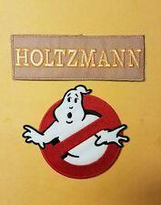 Ghostbusters Uniform/Costume Holtzmann Patch Set of 2