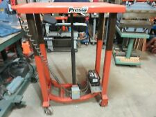 New listing Presto Bp18-20 Table 2000 lbs. Battery Operated Lexco, Wesco Die Cart