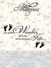 Mutterpasshülle 3-teilig Motiv Spruch 1, personalisierbar mit Namen