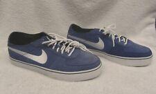 Nike Mavrk 6.0 Low Men's Shoes Size 9 BLUE Suede/Leather Skate 472617-400 Deck