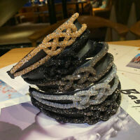 Women's Crystal Shine Headband Chic Hairband Hair Band Hoop Accessories Hot