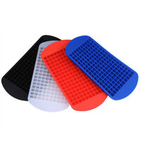160 cell Small Ice Cube Tray Frozen Cubes Trays Silicone Mold Home Kitchen Tool
