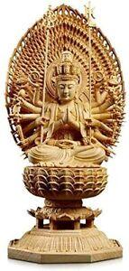 Buddha statue Kannon statue Senju Kannon Wood carving Buddhist altar Buddha sta