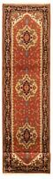 "Hand-Knotted Carpet 2'6"" x 11'9"" Traditional Oriental Wool Area Rug"