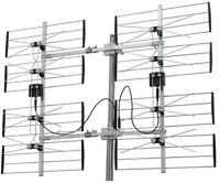 8 Bay Ultra Clear Digital Outdoor Antenna HD Signals Compatible TV DVD 70 Miles