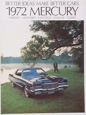 1972 Mercury DLX  FL Brochure Marquis/Comet/Cougar