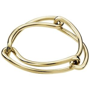 Calvin Klein Unified Gold PVD Stainless Steel Ladies Bangle KJ9QJD10010S
