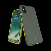 iPhone X / XS adidas Sports Solo - Grey Yellow