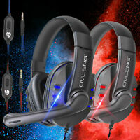 New Gaming Headset Stereo Headphone For PS4/Nintendo Switch/Xbox One/Laptop/PC