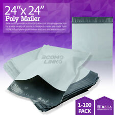 "24""X24"" Poly Mailer Shipping Mailing Packaging Envelope Self Sealing Bags Light"