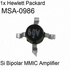 1x Hewlett Packard MSA-0986 Silicon Bipolar MMIC Amplifier On Tape HP