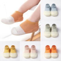 1 Pair Baby Soft Rubber Sole Shoes Anti-Slip Floor Non-slip Socks Toddler Shoes