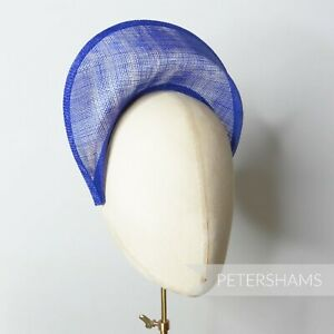 Halo Crown Sinamay Fascinator Hat Base for Fascinators, Hat Making and Millinery