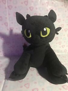 """Build A Bear Workshop Dreamworks How To Train Your Dragon Toothless 13"""" Plush"""