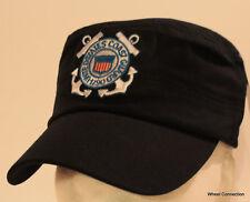 Coast Guard Hat Border Patrol Military with Embroidery Dark Blue Baseball Cap