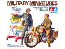 Tamiya 1/35 German Motorcycle Orderly Set # 35241 - Plastic Model Kit