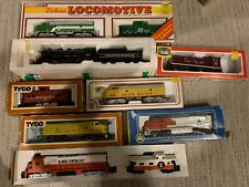 Lot of 7 Misc HO Locomotive engines - Most Used/Some in Orig Packaging!