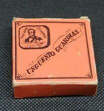 Vintage Medicine Tin: UNGUENTO GUARDIAS, Venezuela skin cream, Tin + Box, empty