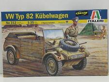 Italeri 312 Bausatz VW Typ 82 Kübelwagen mit 2 Figuren M. 1:35