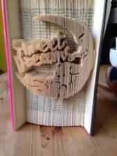 Cortar y doblar Libro Plegable Patrón.. dulces sueños oso 532 páginas #1518 Bebé Regalo