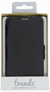 (RV420) JOBLOT of 38 x Trendz TZS5BKN Black Folio Case for Samsung Galaxy S5