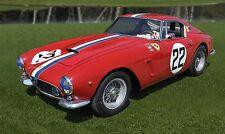 1960 Ferrari 250GT Sports Race Car Photo (CA-0966)